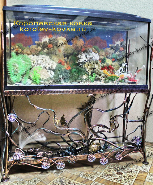 Подставка аквариум