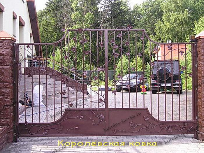 Как рассчитать стоимость кованых ворот